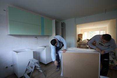 "Installation of furniture in the apartment ""Lozenets"" Sofia"